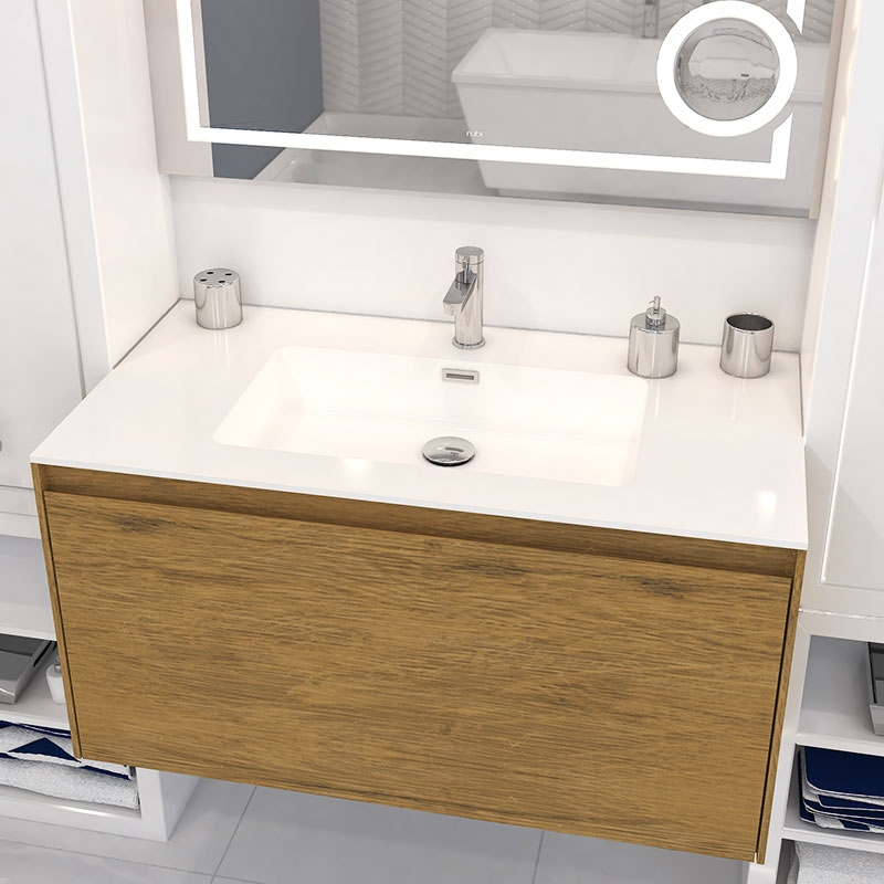 Aria, Rubi, bathroom furniture, bathroom, sanitary