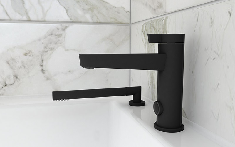 abyss, black, trend, faucet, bathroom